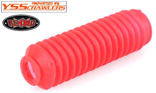 RC4WD Super Scale Shock Boot [Red][4pcs]