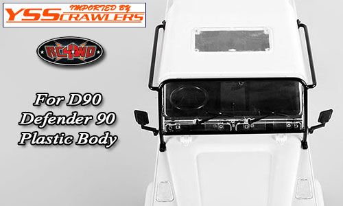 RC4WD Defender D90 Window Protection Roll Cage!
