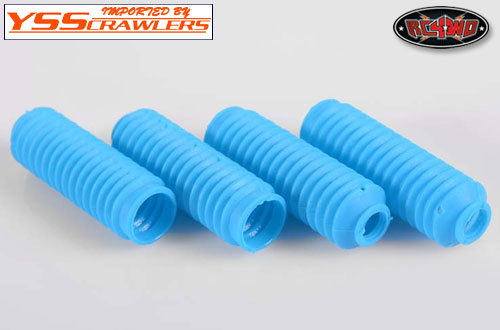 RC4WD Super Scale Shock Boot [Blue][4pcs]