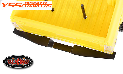 RC4WD Tough Armor Rear Aluminum Bumper for Trail Finder 2