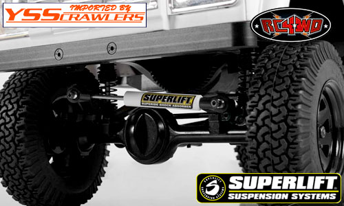 RC4WD Superlift Adjustable Steering Stabilizer (90mm-120mm)