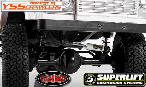 RC4WD Superlift[スーパーリフト] アジャスタブル ステアリング スタビ[65-90mm]