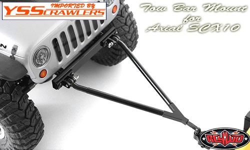 RC4WD トゥバー(牽引バー) for Axial SCX10![ブラック]