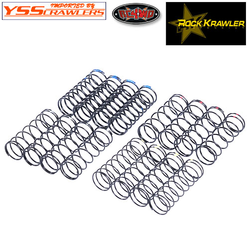 RC4WD Rock Krawler RRD オイルダンパー オプションスプリングセット![110mm]