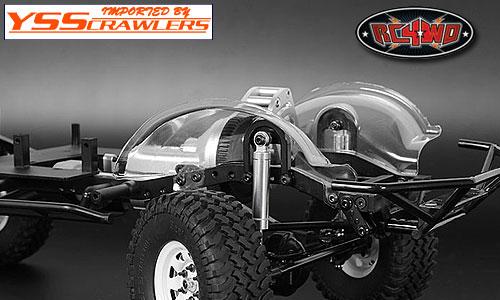 RC4WD TF2 フロントインナーフェンダーセット for ハイラックス&Mojave![クリアー]