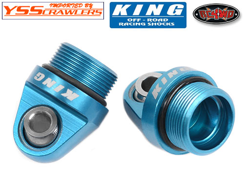 RC4WD ショック トップ キャップ For KING Shock! [2本分]