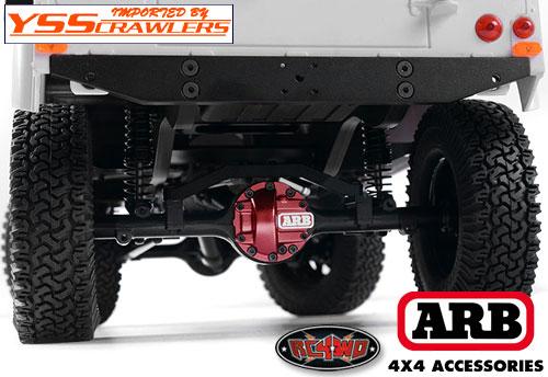 RC4WD ARB デフカバー for Yota II [ヨタ]![レッド]