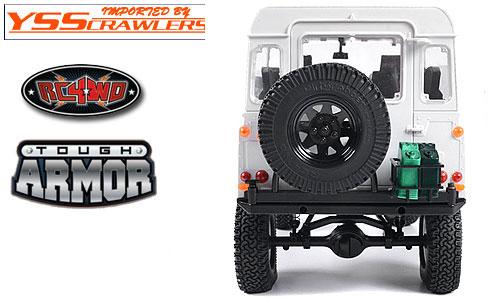 RC4WD タフアーマー タイヤキャリアー for ゲレンデ2! [ジェリー缶ホルダー付][スイング可]
