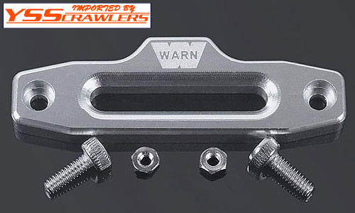 RC4WD 1/10 Warn Hawse Polished Aluminum Fairlead!
