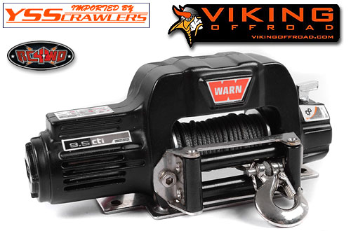 RC4WD 1/10 Viking Roller Fairlead for Warn 9.5cti Winch!
