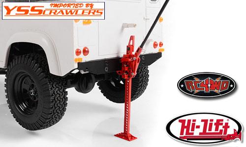 RC4WD Hi-Lift製 フルメタル ハイリフトジャッキ!