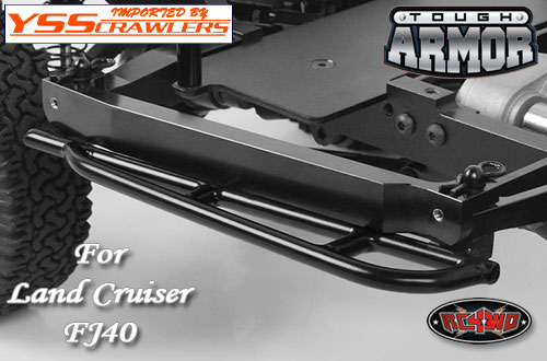 RC4WD FJ40 Tough Armor Side Slider for G2 Cruiser!