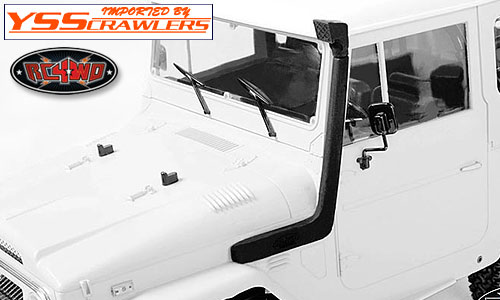 RC4WD サファリスノーケル for トヨタ ランドクルーザーFJ40!