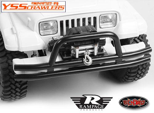 RC4WD Ranpage ダブルチューブフロントバンパー for TF2SWB!