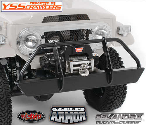 RC4WD Tough Armor front Bumper for G2 Cruiser!