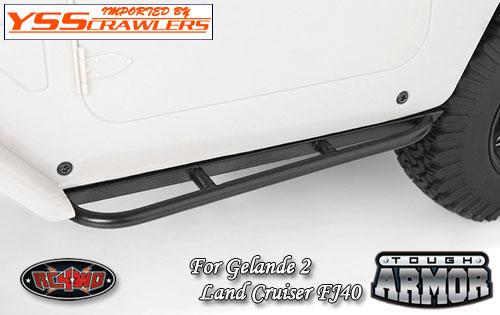 RC4WD タフアーマー チューブスライダー for ゲレンデ2 FJ40!