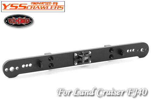 RC4WD Tough Armor Rear Bumper with Hitch Mount for G2 Cruiser