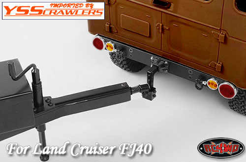 RC4WD タフアーマー リアバンパー for G2 FJ40![ライトステー][ヒッチ付]