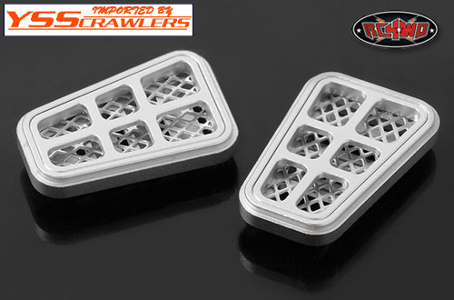 RC4WD Aluminum Hood and Side Vents for Defender D90 D110!