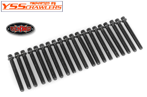 RC4WD Miniature Scale Hex Bolts [M2 x 16mm][Black]