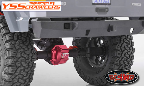 RC4WD ARB デフカバー for Axial AR44アクスル![SCX10-II]