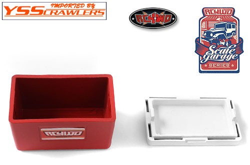 RC4WD Scale Garage Series 1/10 Cooler! [Red-White]