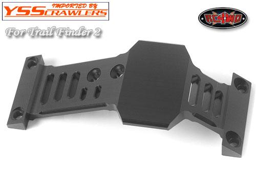 RC4WD ロープロファイル デルリン スキッドプレート  for TF2