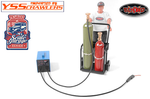 RC4WD Scale Garage Series 1/10 MIG Welder and Gun
