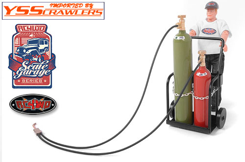 RC4WD Scale Garage Series 1/10 Acetylene Tank and Welding Torch!