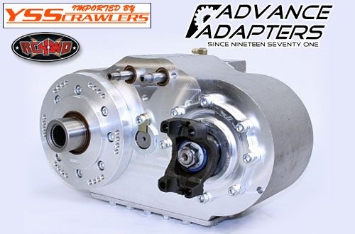 RC4WD Advance Adapters Aluminum Transfer Case Housing for Axial SCX10 II!