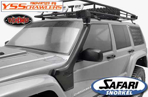 RC4WD サファリ スノーケル For Axial SCX10 XJ!
