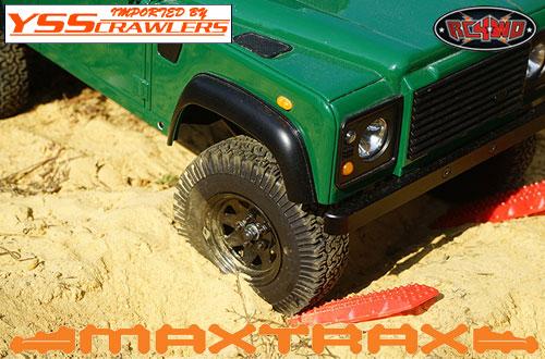 RC4WD MAXTRAX[マックストラックス] エクストラトラクション&リカバリーボード![レッド]