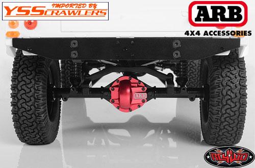 RC4WD ARB アルミデフカバー for K44アクスル!