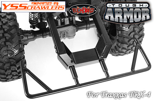 RC4WD アルミ リアバンパーマウント for Traxxas TRX-4!