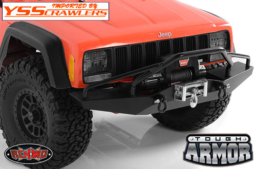 RC4WD タフアーマー フロント ウィンチバンパー TypeB for Axial SCX10-II [XJ]!