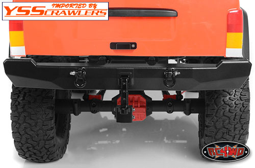 RC4WD Type A Machined Rear Bumper for SCX10 II