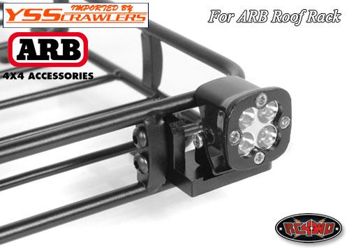 RC4WD ライトバーマウント for ルーフラック V3!