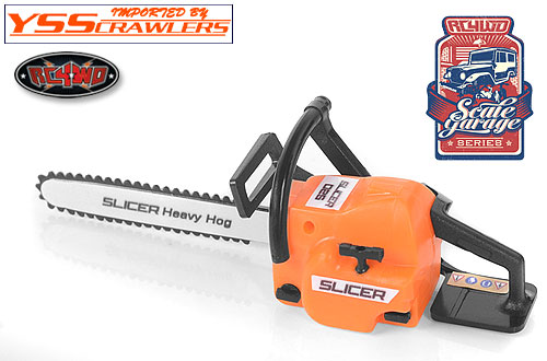 RC4WD Scale Garage Series 1/10 Chainsaw!