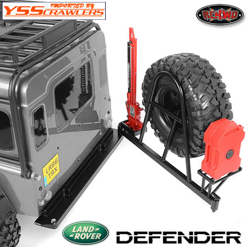 RC4WD タイヤキャリアーバンパー for Traxxas TRX-4![開閉可]