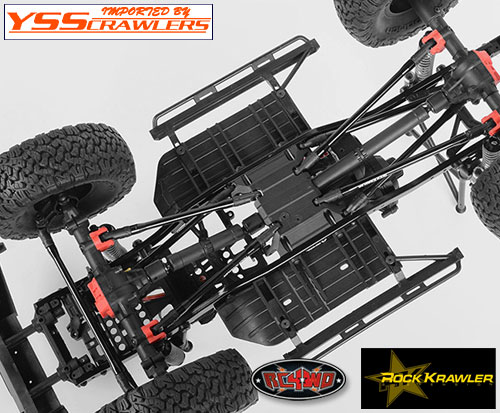 RC4WD ROCK KRAWLER アルミリンクパッケージ for Axial SCX10-II!