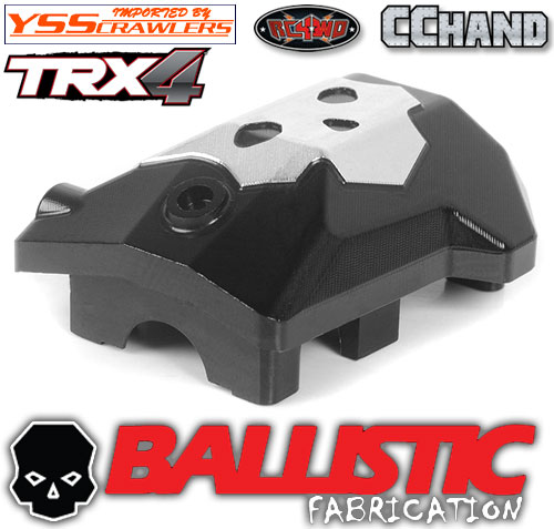 RC4WD Ballistic Fabrications Diff Cover for Traxxas TRX-4