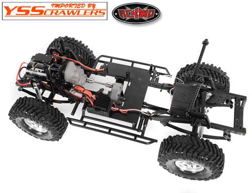 RC4WD ポリカボディーマウントシステム For TF2 LWB!