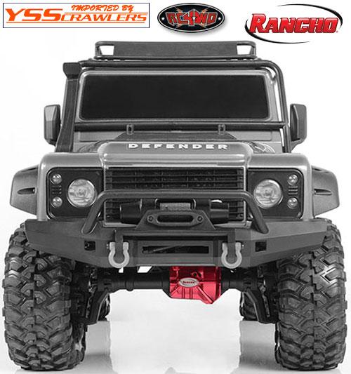 RC4WD Rancho[ランチョ] デフカバー for Traxxas TRX-4!
