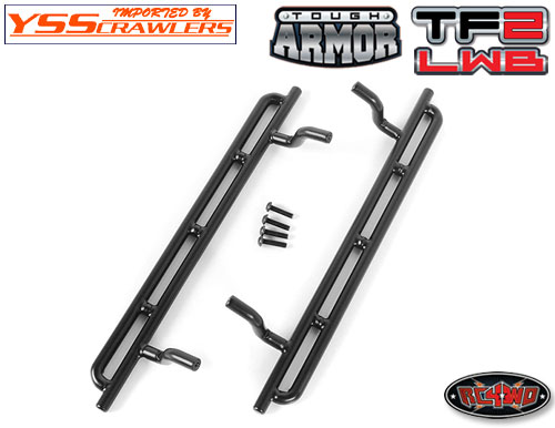 RC4WD Tough Armor Narrow Steel Sliders for Trail Finder 2 LWB