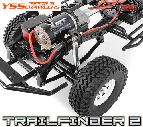 RC4WD Reverse Mount Spring Hanger Conversion Kit for TF2 and TF2 LWB!
