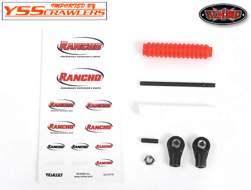RC4WD Rancho Adjustable Steering Stabilizer (70-100mm)