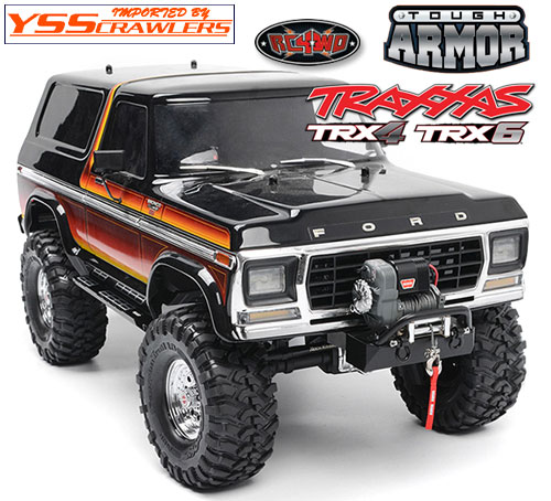 RC4WD TA ストゥービー フロント ウィンチ バンパー for Traxxas TRX-4!