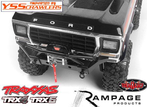 RC4WD ランページ[Rampage] フロントバンパー for Traxxas TRX-4!