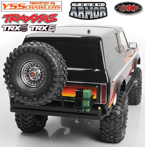 RC4WD TA リアバンパー スイング タイヤ&ジェリー缶 キャリアー for Traxxas TRX-4!