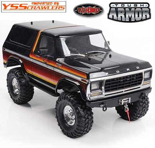 RC4WD TA フロント バンパー for TRX-4![BRONCO][ブラック]